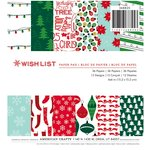 American Crafts - Christmas - 6 x 6 Paper Pad - Wish List