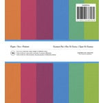 American Crafts - 6 x 6 Paper Pad - Brights