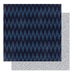 Heidi Swapp - September Skies Collection - 12 x 12 Double Sided Paper - Midnight Shadows