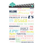 Heidi Swapp - September Skies Collection - Stickers - Word Strips