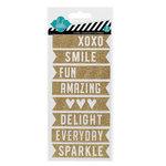 Heidi Swapp - Glitter Stickers - Banners
