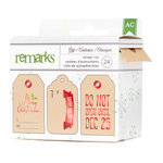 American Crafts - Be Merry Collection - Christmas - Label Sticker Roll - Gift Giving