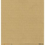 American Crafts - Stitched Collection - 12 x 12 Kraft Paper - Hooked