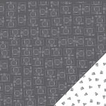 American Crafts - Amy Tangerine Collection - Stitched - 12 x 12 Double Sided Paper - Alternate