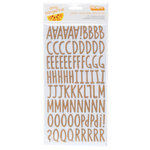 American Crafts - Amy Tangerine Collection - Stitched - Thickers - Chipboard - Everyday - Kraft