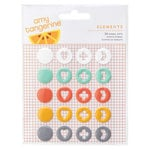 American Crafts - Stitched Collection - Enamel Dots
