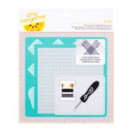 American Crafts - Amy Tangerine Collection - Stitched - Embroidery Stencil Kit - Oxford