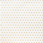 American Crafts - DIY Shop 2 Collection - 12 x 12 Vellum Paper - Gold Foil Dot