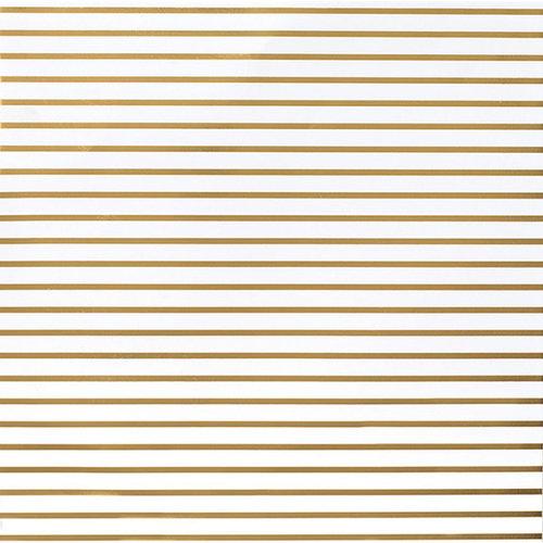 american crafts diy shop 2 thin gold foil stripe on white