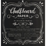American Crafts - DIY Shop 2 Collection - 12 x 12 Paper Pad - Chalkboard