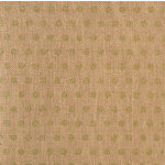 American Crafts - DIY Shop 2 Collection - 12 x 12 Printed Burlap Sheet - Gold Glitter Dots