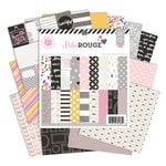Pink Paislee - Bella Rouge Collection - 6 x 6 Paper Pad
