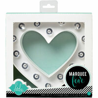 Heidi Swapp - Marquee Love Collection - Marquee Kit - Heart