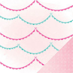 American Crafts - Dear Lizzy Serendipity Collection - 12 x 12 Double Sided Paper - Ooh La La