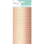 American Crafts - Dear Lizzy Serendipity Collection - Cardstock Stickers - Foil Letters