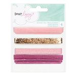 American Crafts - Dear Lizzy Serendipity Collection - Ribbon Set