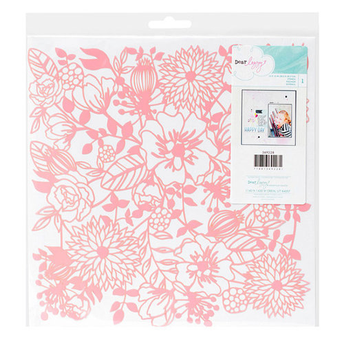 American Crafts - Serendipity Collection - 12 x 12 Stencil