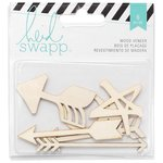Heidi Swapp - Wanderlust Collection - Memorydex - Wood Veneer Pieces - Arrows