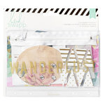 Heidi Swapp - Wanderlust Collection - Flea Market Pouch Kit - Wanderlust