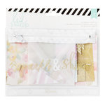 Heidi Swapp - Wanderlust Collection - Flea Market Pouch Kit - Sparkle and Shine