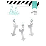 Heidi Swapp - Wanderlust Collection - Metal Charms - Arrows