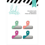 Heidi Swapp - Wanderlust Collection - Painted Bulldog Clips