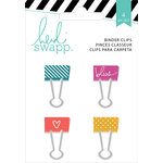 Heidi Swapp - Wanderlust Collection - Painted Binder Clips