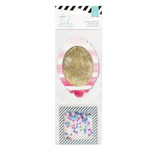 Heidi Swapp - Wanderlust Collection - Shaker Box Glitter