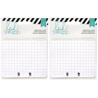 Heidi Swapp - Memorydex - Cards - Patterned - 2 Pack