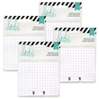 Heidi Swapp - Memorydex - Cards - Patterned - 4 Pack