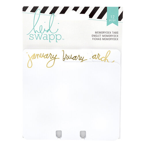 Heidi Swapp - Memorydex - Cards - Monthly