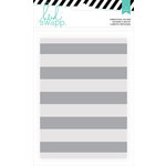 Heidi Swapp - Wanderlust Collection - 5 x 7 Embossing Folders - Stripe