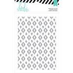 Heidi Swapp - Wanderlust Collection - 5 x 7 Embossing Folders - Tribal