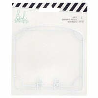 Heidi Swapp - Memorydex - Die Set - Dividers - Oval