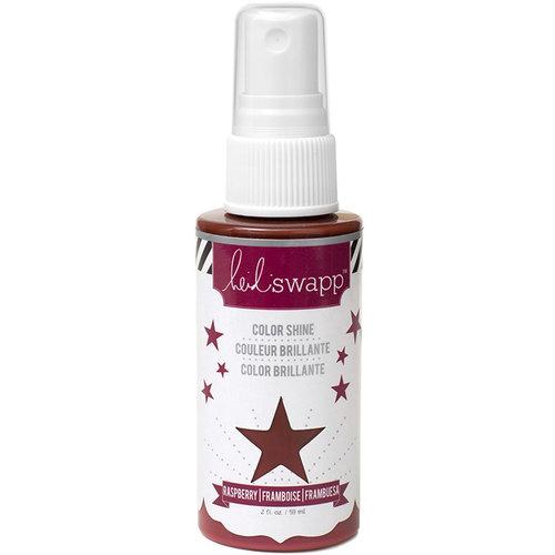 Heidi Swapp - Color Shine Iridescent Spritz - 2 Ounce Bottle - Raspberry