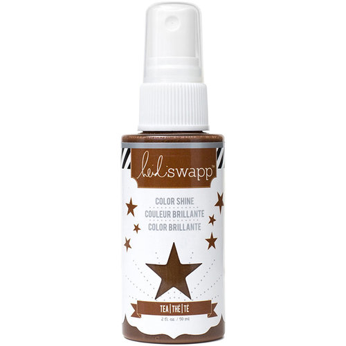 Heidi Swapp - Color Shine Iridescent Spritz - 2 Ounce Bottle - Tea
