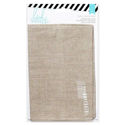 Heidi Swapp - Wanderlust Collection - Journal Book Cover - Printed Cotton