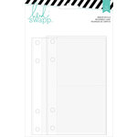 Heidi Swapp - Wanderlust Collection - 5 x 7 Memory Binder - Assorted Page Protectors