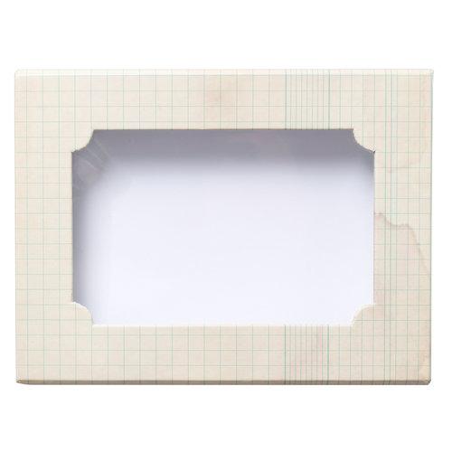 Heidi Swapp - Wanderlust Collection - Keepsake Album Box - Ledger Rectangle - 7.5 x 5.5