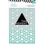 Heidi Swapp - Wanderlust Collection - Stamp and Stencil Set - 5 x 7 - This Moment