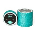 Heidi Swapp - Marquee Love Collection - Glitter Tape - Teal - 0.875 Inches Wide