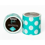 Heidi Swapp - Marquee Love Collection - Washi Tape - Mint Polka Dot - 2 Inches Wide