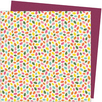 American Crafts - Late Afternoon Collection - 12 x 12 Double Sided Paper - Sprinkled Throughout