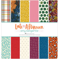 American Crafts - Late Afternoon Collection - 12 x 12 Paper Pad