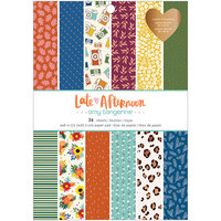 Amy Tangerine - Late Afternoon Collection - 6 x 8 Paper Pad with Copper Foil Accents