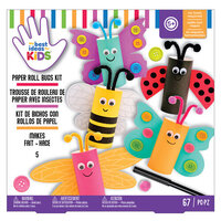 American Crafts - Best Ideas For Kids Collection - Craft Kits - Paper Roll Bugs