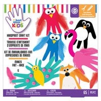American Crafts - Best Ideas For Kids Collection - Craft Kits - Handprint Animals