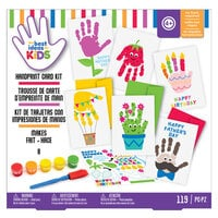 American Crafts - Best Ideas For Kids Collection - Craft Kits - Handprint Cards
