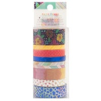American Crafts - Go the Scenic Route Collection - Washi Tape with Navy Foil Accents