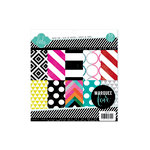 Heidi Swapp - Marquee Love Collection - 8.5 x 8.5 Paper Pad - Patterned
